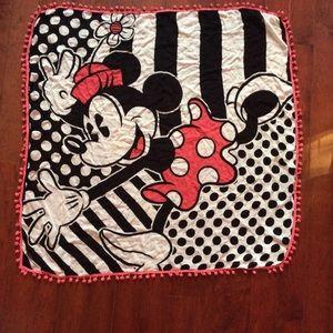 Disney Minnie Mouse Pom Pom Scarf